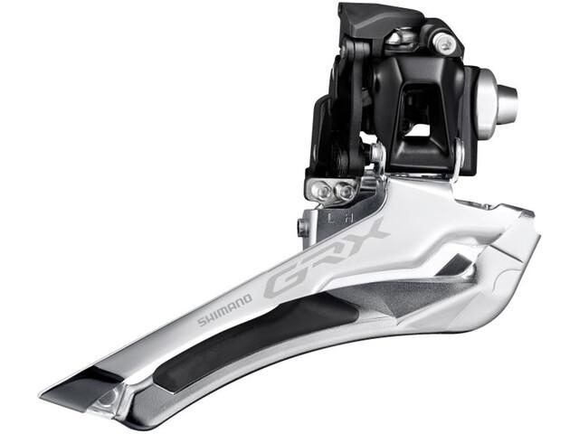 Shimano GRX FD-RX400 Desviador 2x10 Braze-On, black